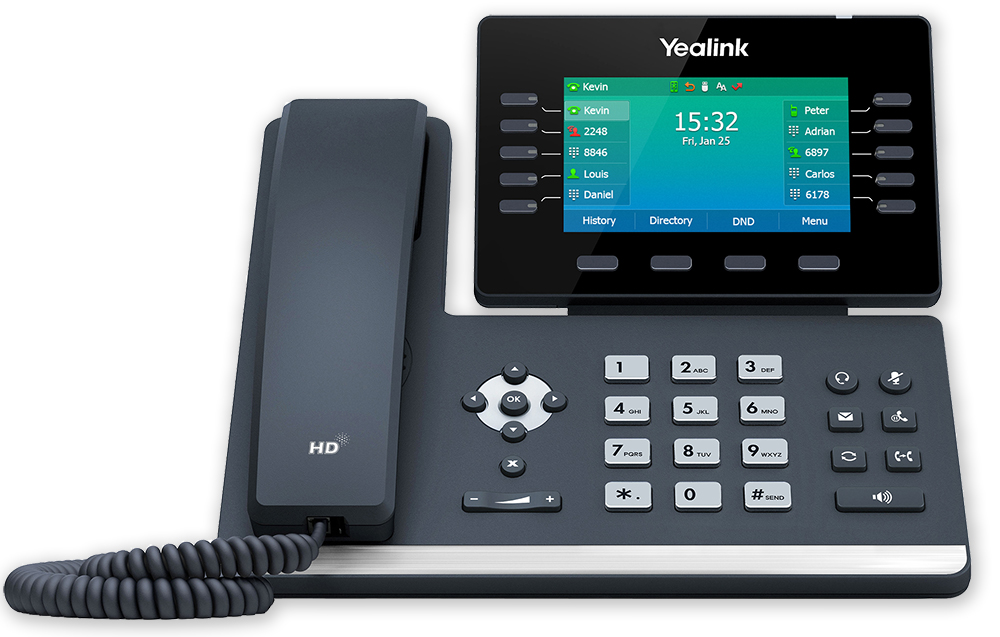 Tisch Telefon Yealink T54W