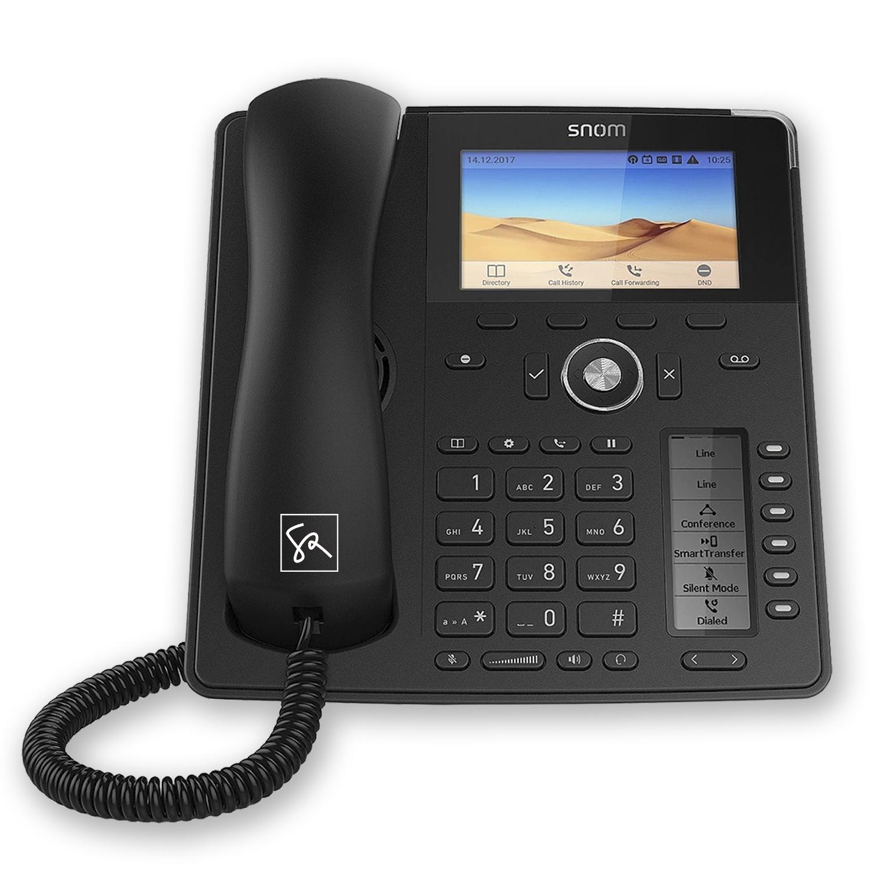 Tisch-Telefon SNOM D785 Front stephanrasch.de snom.com