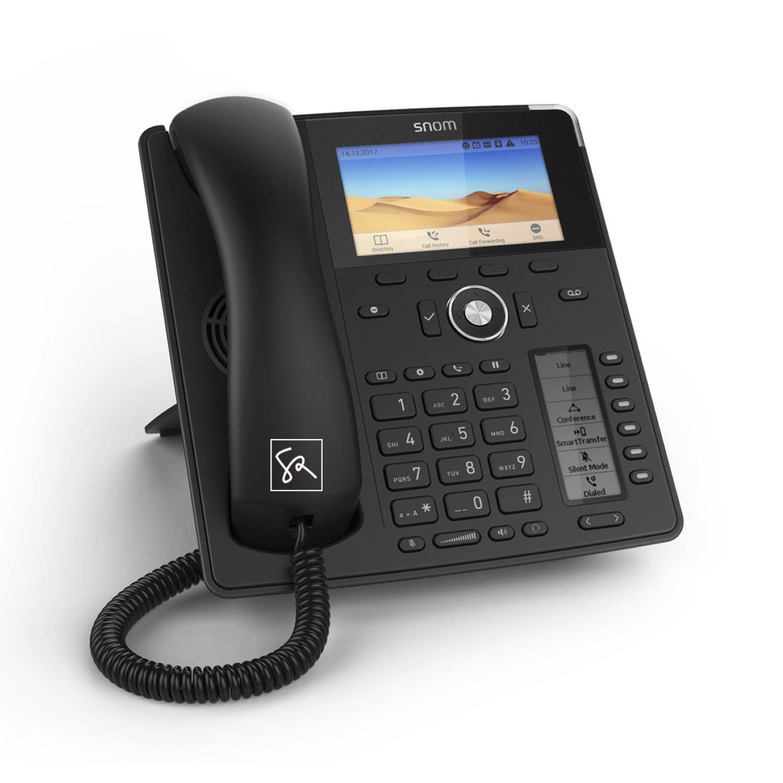 Tisch-Telefon SNOM D785 Links stephanrasch.de snom.com