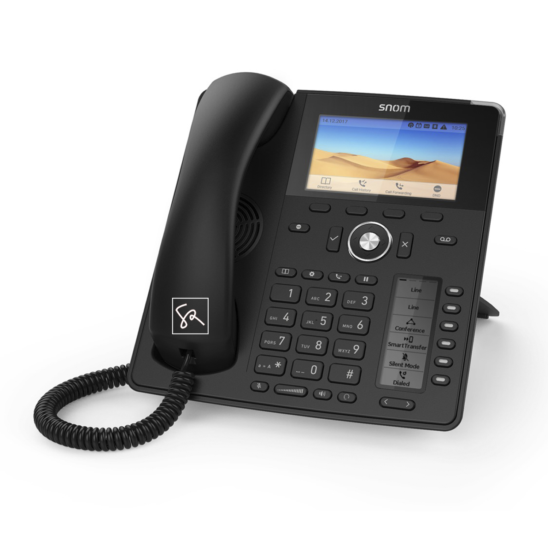 Tisch-Telefon SNOM D785 Rechts stephanrasch.de snom.com