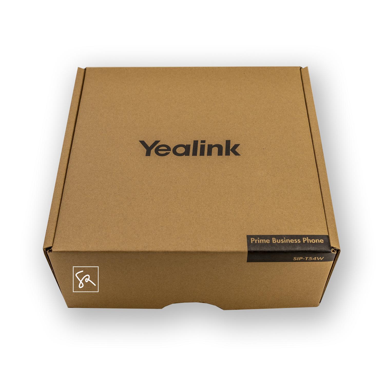 Tisch-Telefon Yealink T54W Karton stephanrasch.de yealink.com