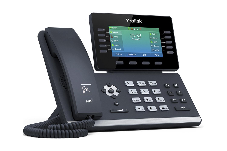 Tisch-Telefon Yealink T54W Links stephanrasch.de yealink.com