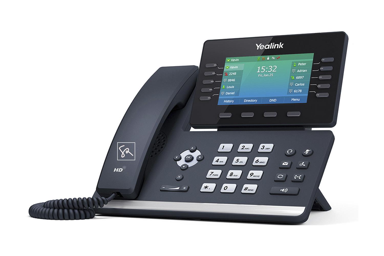 Tisch-Telefon Yealink T54W Rechts stephanrasch.de yealink.com