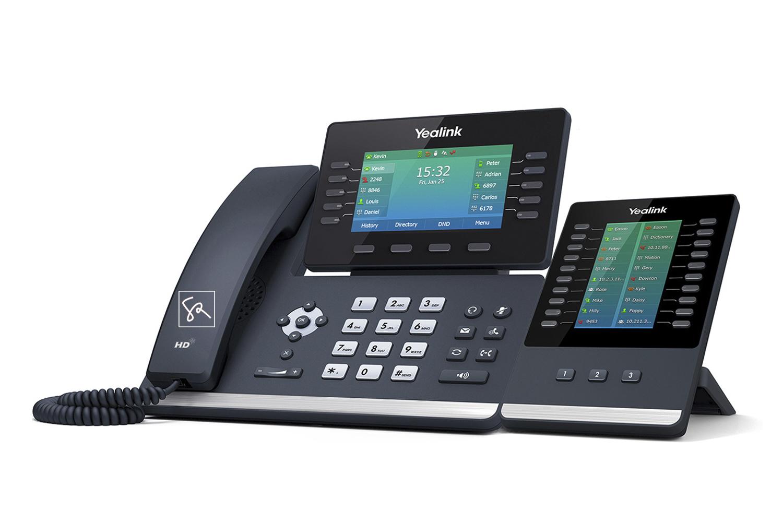 Tisch-Telefon Yealink T54W mit Modul stephanrasch.de yealink.com