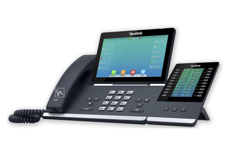 Tisch-Telefon Yealink T57W mit Modul stephanrasch.de yealink.com