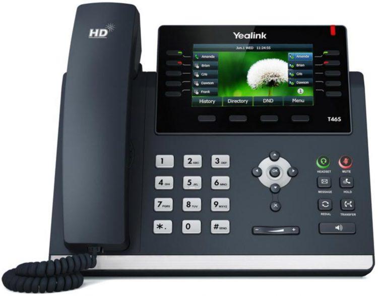 Tisch-Telefon Yealink 46G