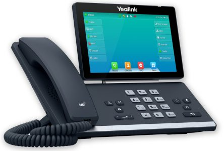 Tisch-Telefon Yealink T57W Left