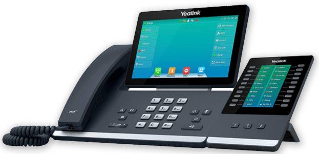Tisch-Telefon Yealink T57W mit Modul