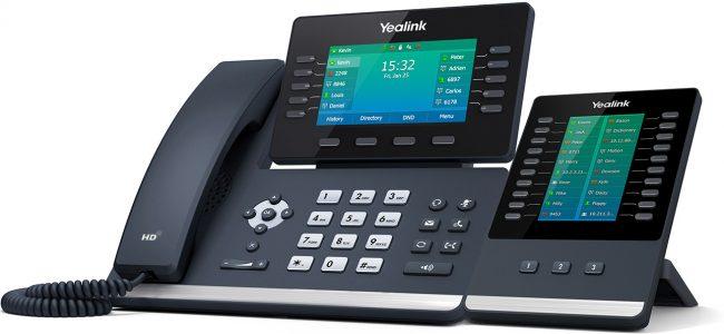 Tisch_Telefon_Yealink_T54W_Tastenmodul